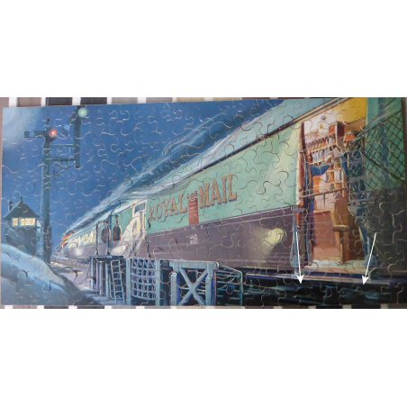Ian Morton-Smith's The Night Train (Chad Valley GWR wooden jigsaw)