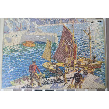 Ian Morton Smith's repaired jigsaw puzzle