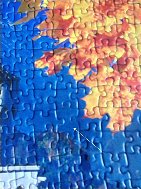 Barnet Phillips jigsaw - close up
