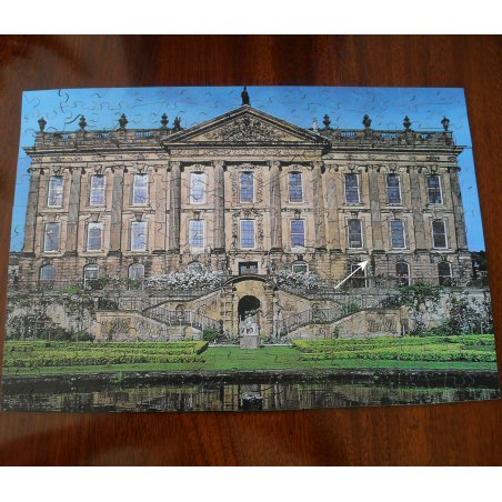 'Chatsworth House - The West Front' - Wentworth